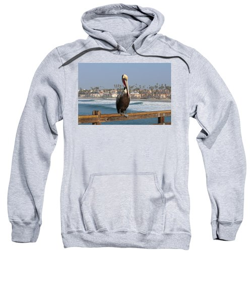 Perched On The Pier Sweatshirt