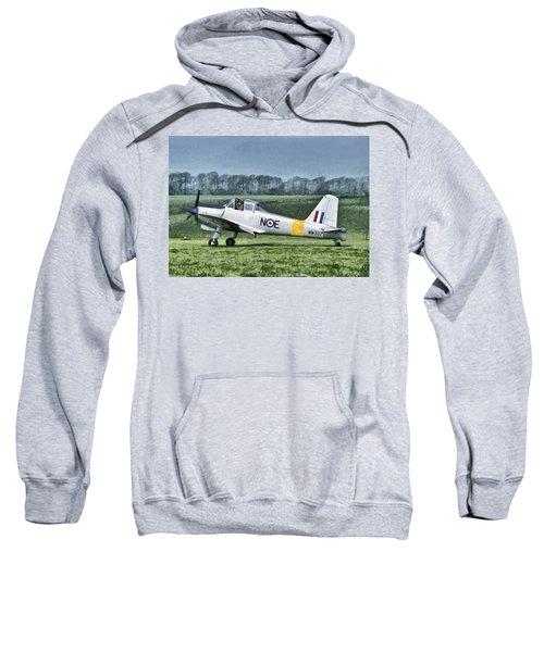 Percival Provost Textured Canvas Sweatshirt