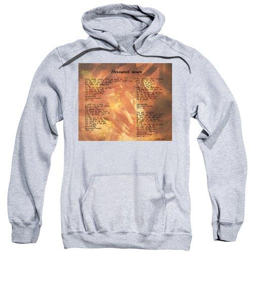 Phenomenal Woman -golden Stars Sweatshirt