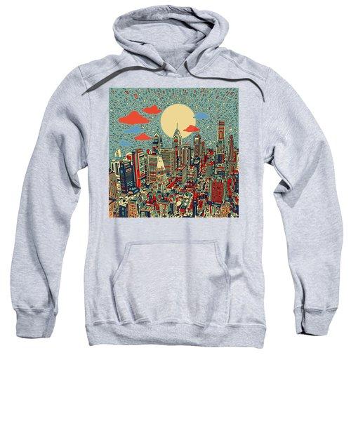 Philadelphia Dream 2 Sweatshirt by Bekim Art