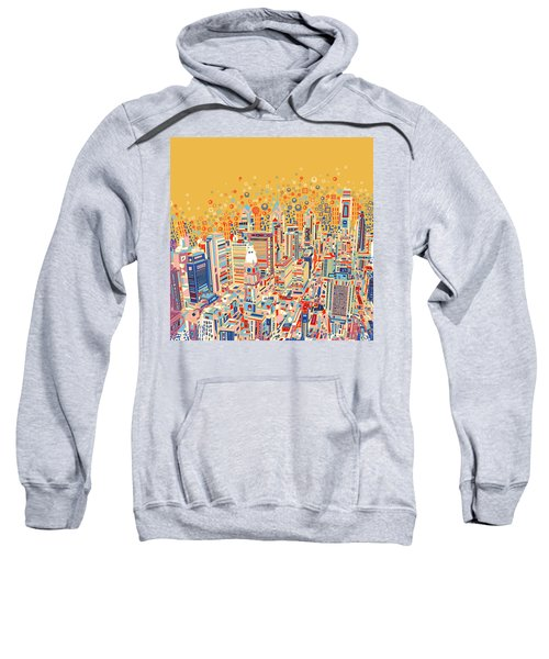 Philadelphia Panorama Pop Art Sweatshirt