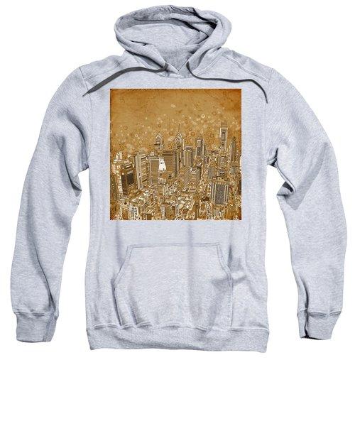 Philadelphia Panorama Vintage Sweatshirt