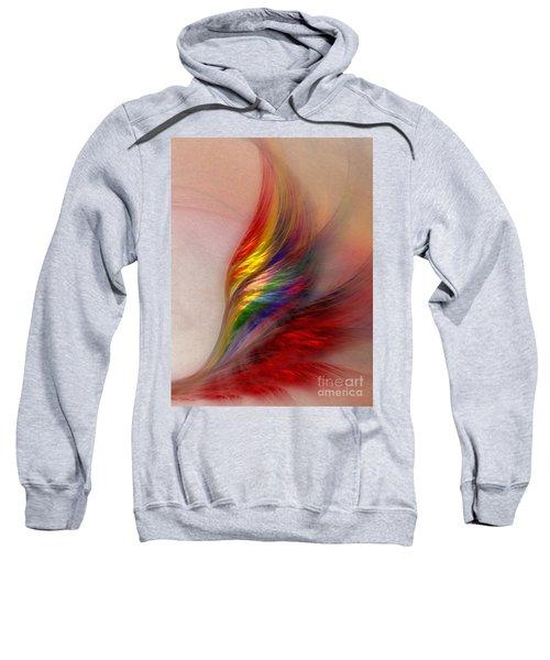 Phoenix-abstract Art Sweatshirt