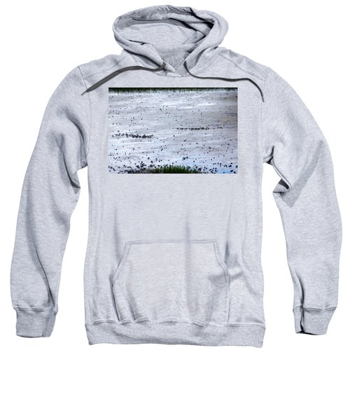 Sweatshirt featuring the photograph Pick A Side by Kim Pate