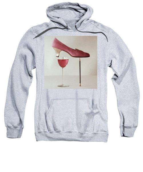 Pink Capezio Pump Sweatshirt