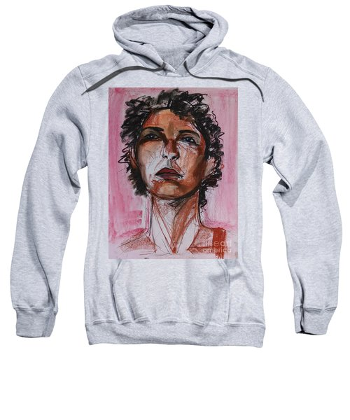 Sweatshirt featuring the drawing Pink  by Gabrielle Wilson-Sealy