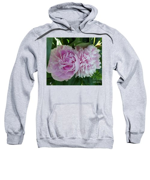 Pink Peonies 2 Sweatshirt