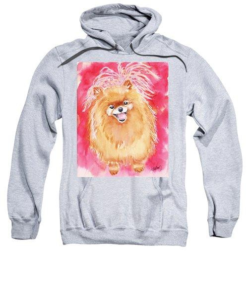 Pink Pom Sweatshirt