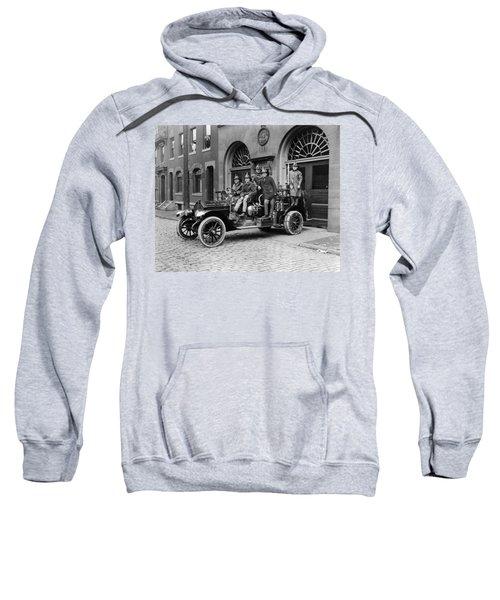 Pittsburgh Fire Truck Sweatshirt