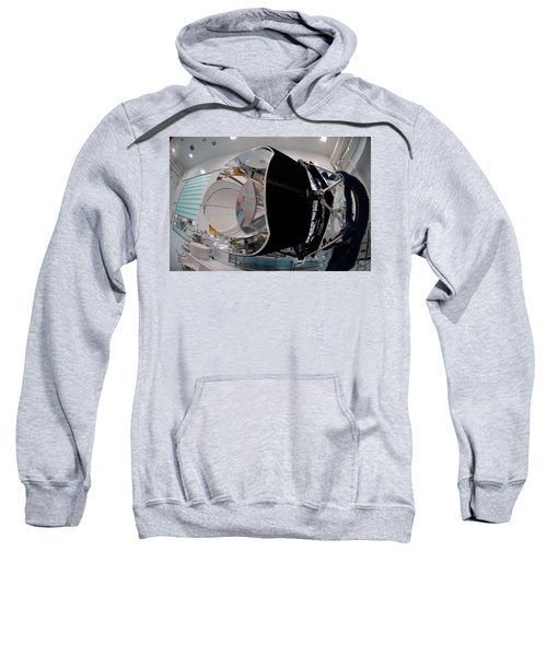 Planck Space Observatory Before Launch Sweatshirt