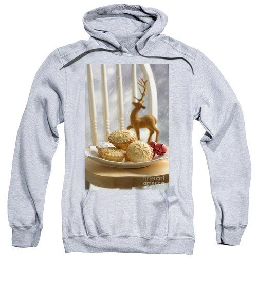Plate Of Mince Pies Sweatshirt
