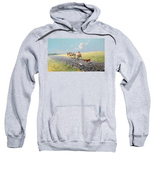 Ploughing The Field Sweatshirt