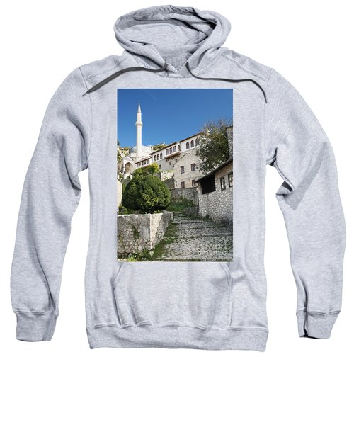 Pocitelj Village Near Mostar In Bosnia  Sweatshirt