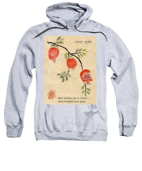 Pomegranates For Rosh Hashanah Sweatshirt