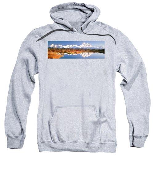 Pond, Alaska Range, Denali National Sweatshirt