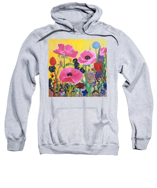 Poppies And Time Traveler Sweatshirt