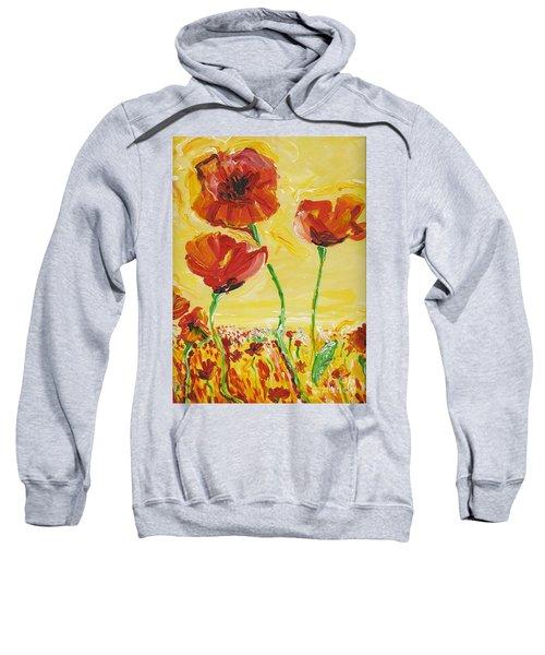 Poppies Impression Sweatshirt