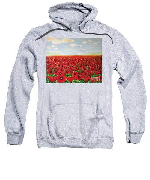 Poppy Fields Sweatshirt