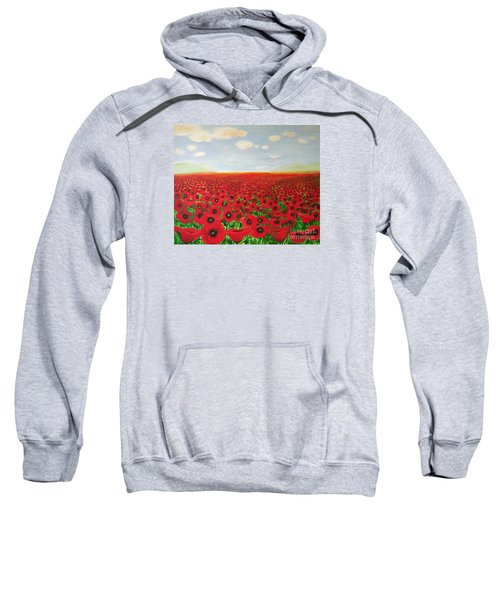 Poppy Fields Sweatshirt