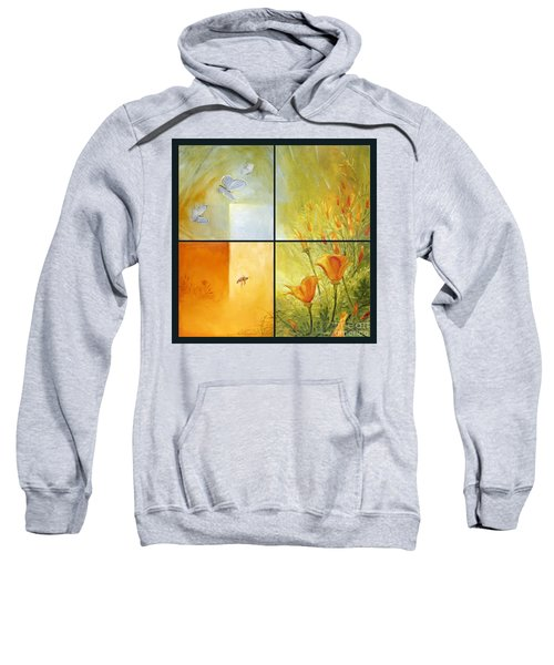 Poppy Pollination Sweatshirt