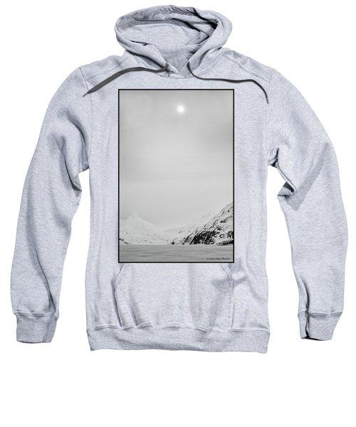 Portage Lake In Fog Sweatshirt
