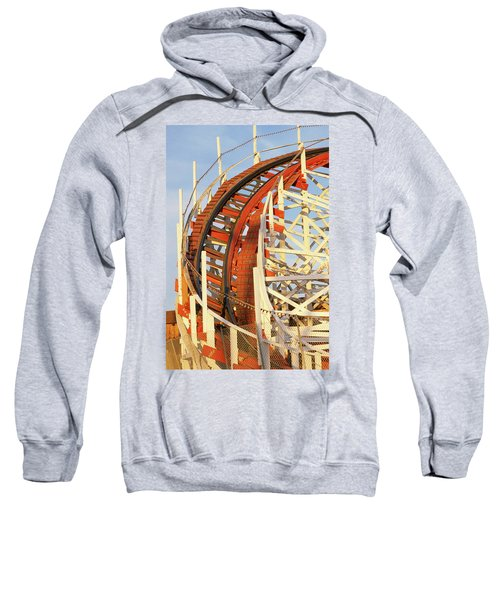 Portion Of Rollercoaster Sweatshirt