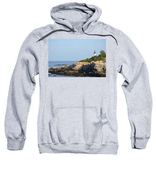 Portland Head Light In Summer Sweatshirt