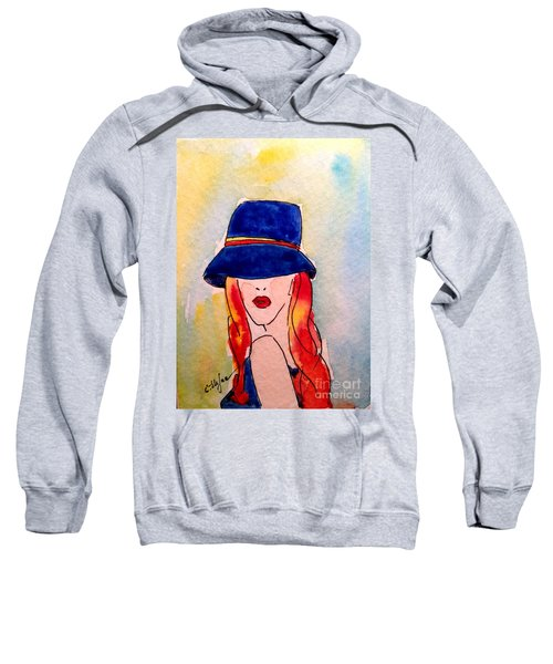 Portrait Of A Woman Sweatshirt