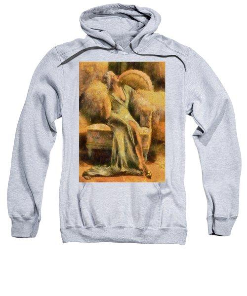 Portrait Of Jean Harlow Sweatshirt