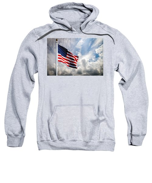 Portrait Of The United States Of America Flag Sweatshirt