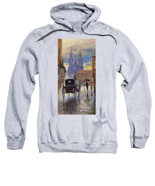 Prague Old Town Square Old Cab Sweatshirt