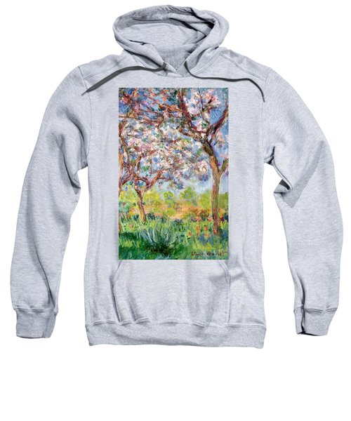 Printemps A Giverny Sweatshirt