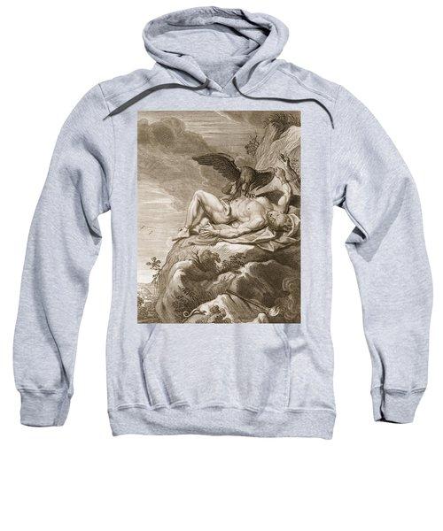Prometheus Tortured By A Vulture, 1731 Sweatshirt