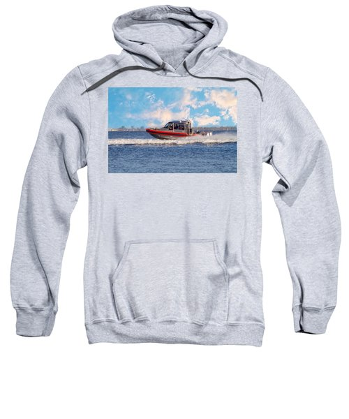 Protecting Our Waters - Coast Guard Sweatshirt