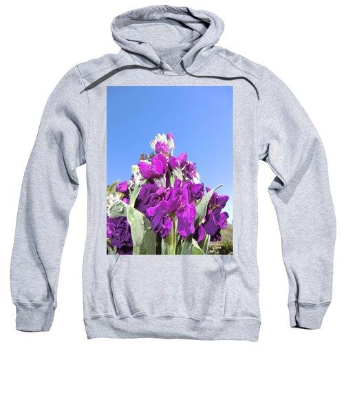 Purple Glow 2 Sweatshirt