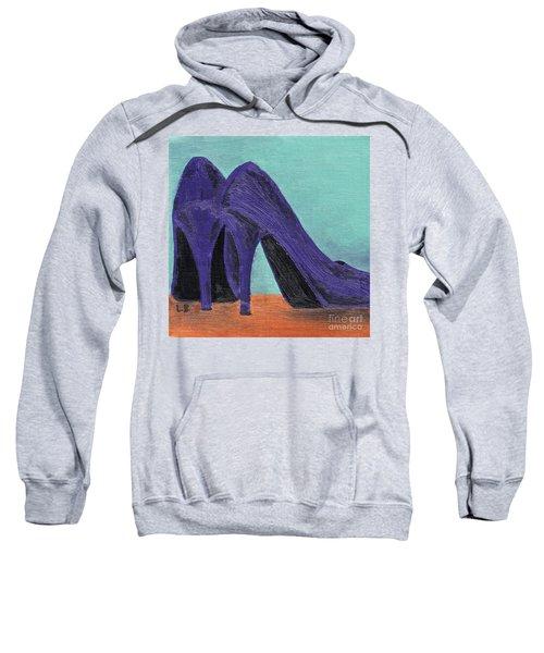 Purple Shoes Sweatshirt