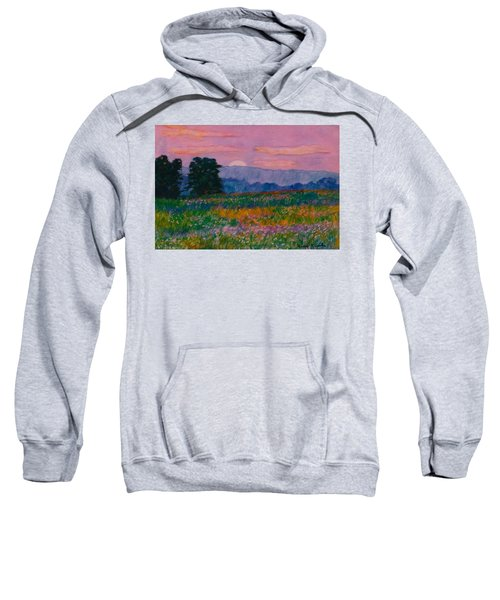 Purple Sunset On The Blue Ridge Sweatshirt