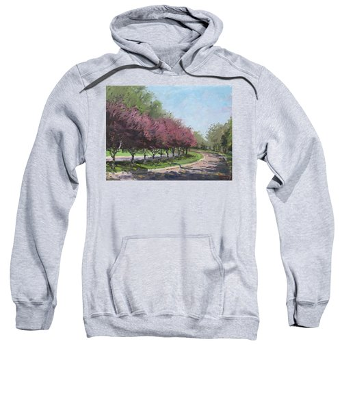 Purple Trees  Sweatshirt