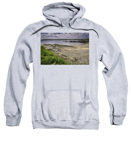 Sweatshirt featuring the photograph Quiet Cove by Mark Myhaver