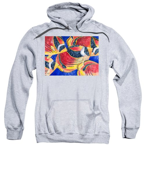 Raccoon Butterflyfish Sweatshirt