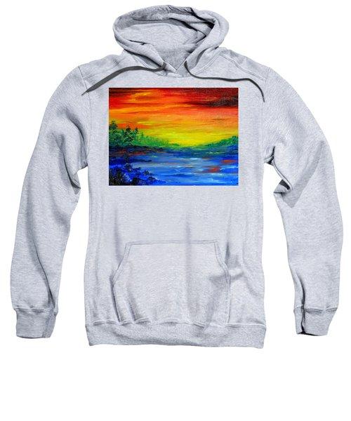 Rainbow Back Waters Sweatshirt