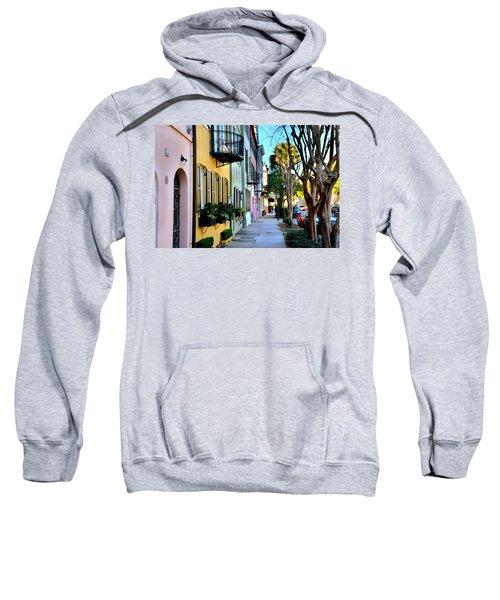 Rainbow Row Hdr Sweatshirt