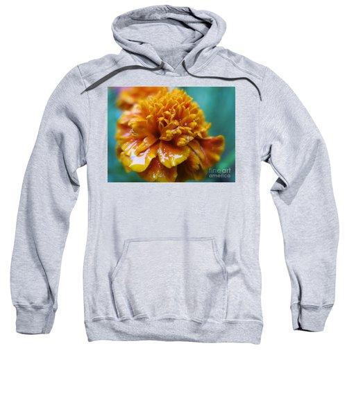 Rainy Marigolds Sweatshirt