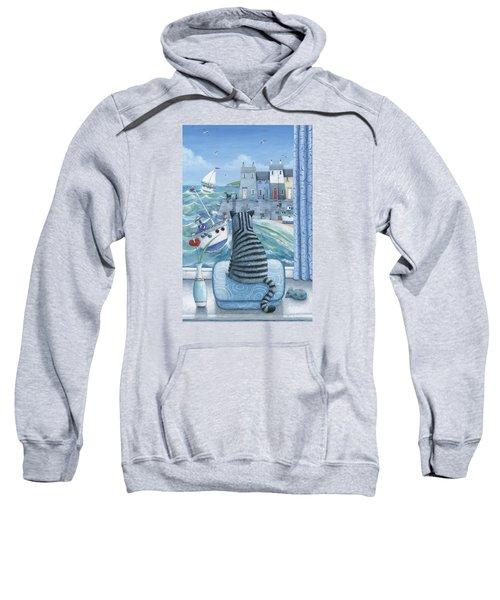 Rather Mew Sweatshirt by Peter Adderley