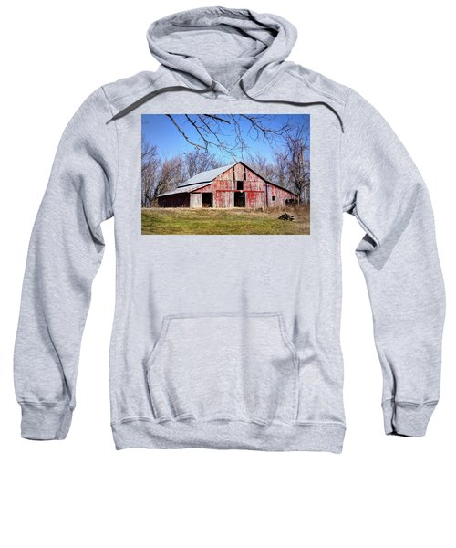 Red Barn On The Hill Sweatshirt