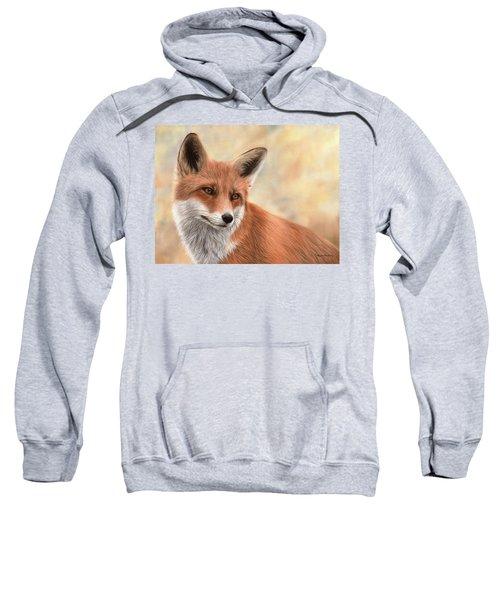 Red Fox Painting Sweatshirt