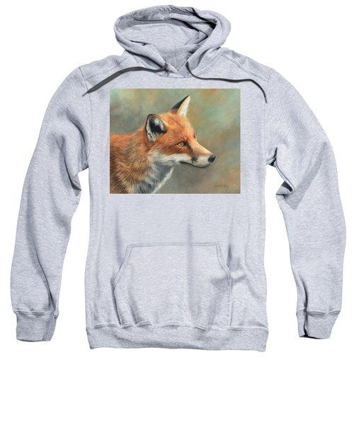 Red Fox Portrait Sweatshirt