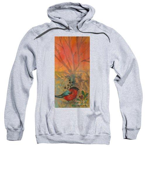 Red Peace Bird Sweatshirt