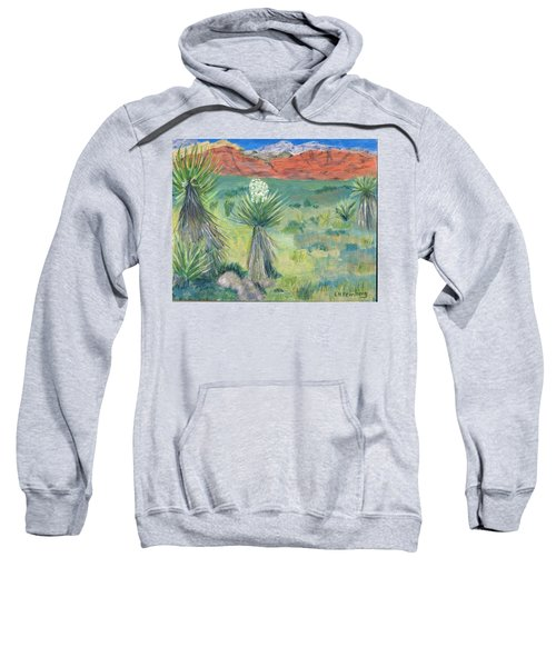 Red Rock Canyon With Yucca Sweatshirt