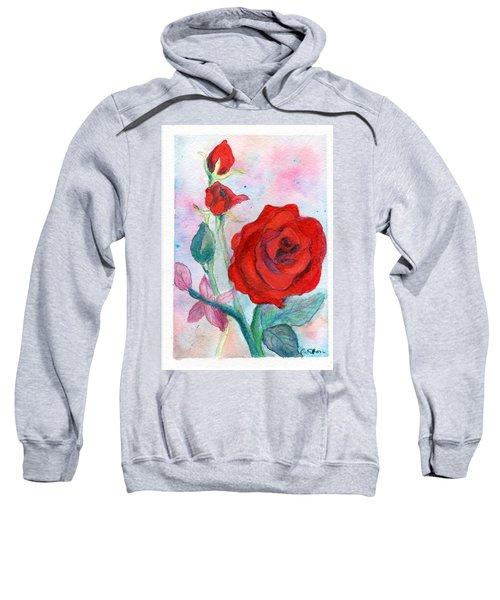 Red Roses Sweatshirt